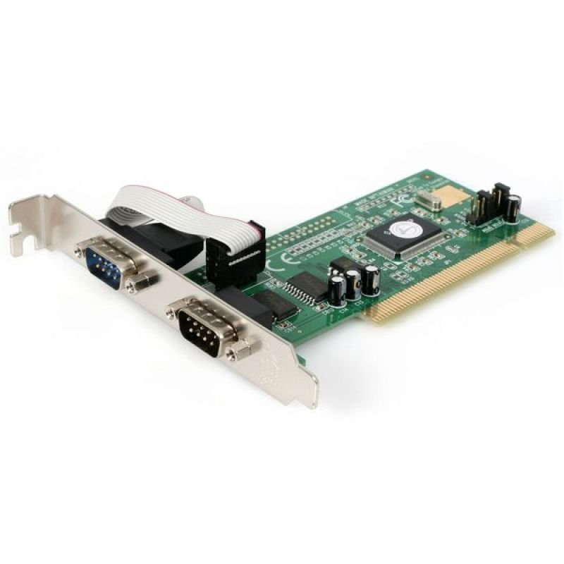 StarTech.com StarTech.com Serial adapter card - PCI - serial - 2 ports