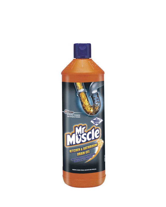 Mr muscle kitc bath drain gel 1l 7518634 ebuyer for Mr muscle idraulico gel
