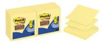 Postit R330 Supr Sticky Z-notes Ylw - 12 Pack