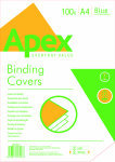 Fellowes Apex Leatherboard Cover A4 Blue