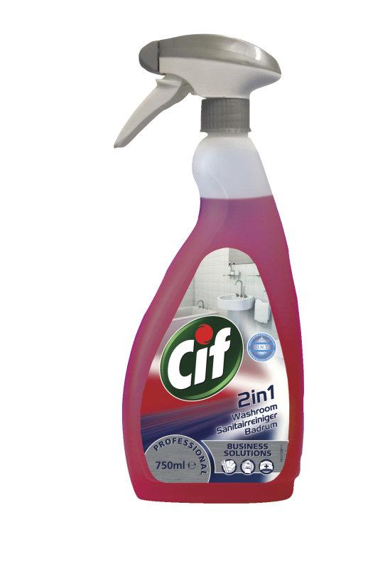 CIF PROF WASHROOM 2IN1 750ML 7517907