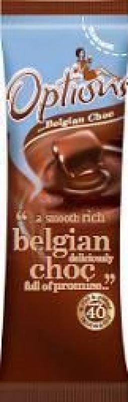 Options Belgian Hot Chocolate Sachet Pk 100