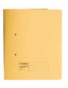 *Guildhall Transfer Spring Pocket File Yellow - 25 Pack