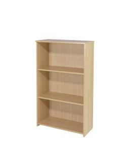Ff Jemini 1200mm Medium Bookcase Oak
