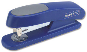 Rapesco Sting Ray Half Strip Stapler (blue)