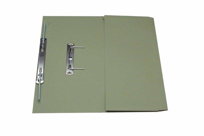 *Guildhall Transfer Spring Pocket File Green - 25 Pack