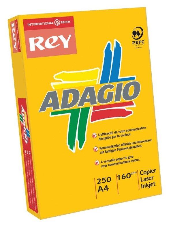 Image of ADAGIO CARD A4 160GM CANARY PK250