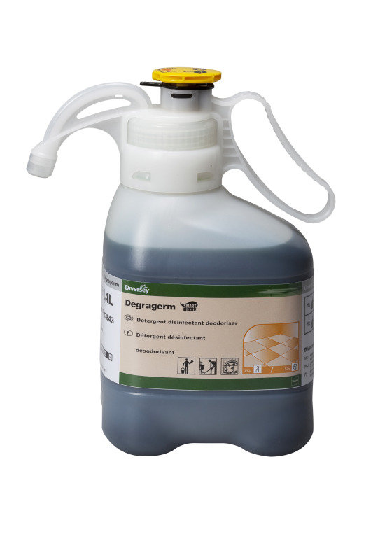Image of Diversey Degragerm 500ml Disinfectant Spray Refill Bottles (Pack of 5)