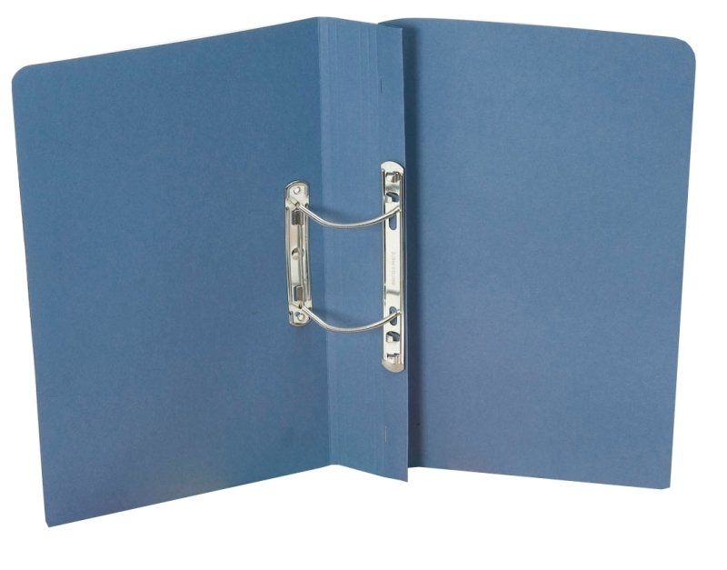 Guildhall Super Heavy Weight Spiral File Blue - 25 Pack