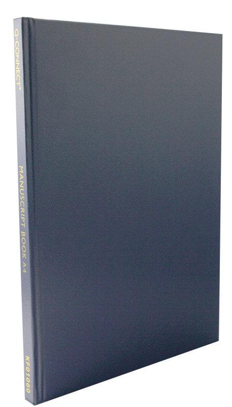 Q CONNECT MANUSCRIPT BOOK A4 FT 96LEAF