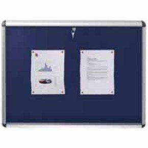 NOBO VISUAL INSERT BOARD BLUE A1 1902048
