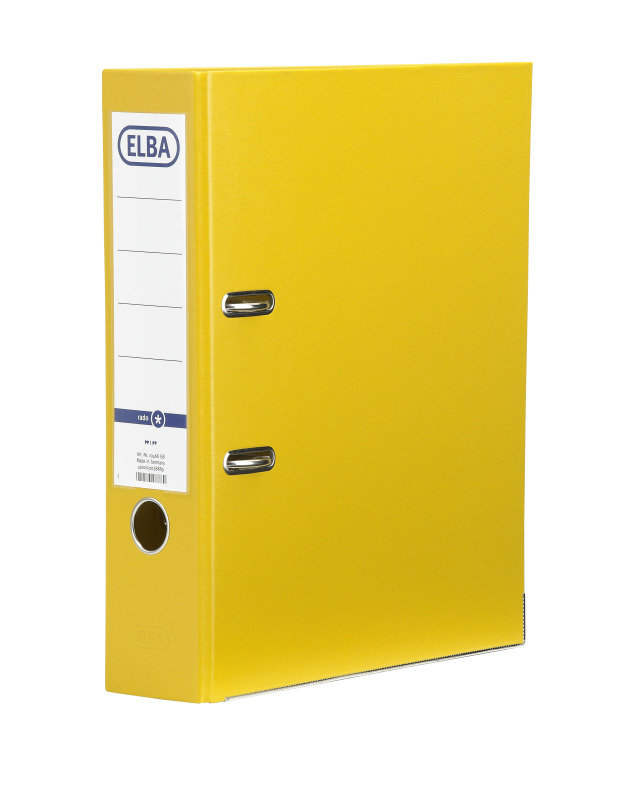 Bantex Larch Pvc A4 Up 3in Yellow 145006