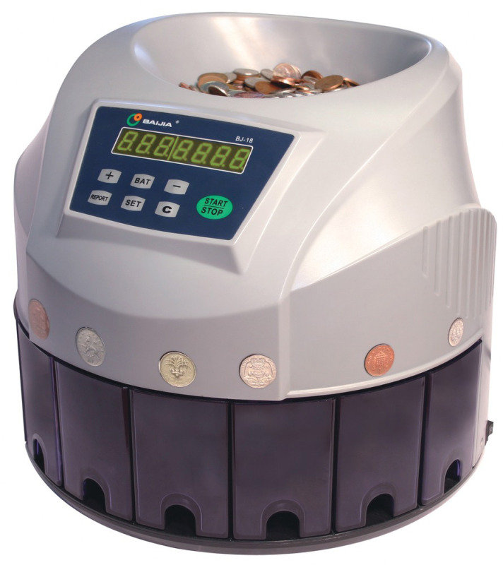 YCR Coin Sorter and Counter Sterling