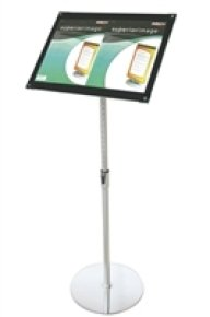 DEFLECTO BEVELLED FLOOR SIGN HOLDER A3
