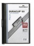 Durable DURACLIP File 60 A4 Black 25 Pack