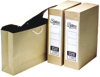 Fellowes Storage File A4/fc Economy 110 - 25 Pack