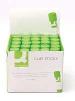 Q Connect Glue Sticks 10g - 25 Pack