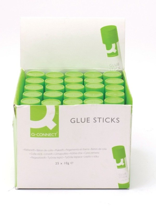 Q Connect Glue Sticks 10g - 25 Pack