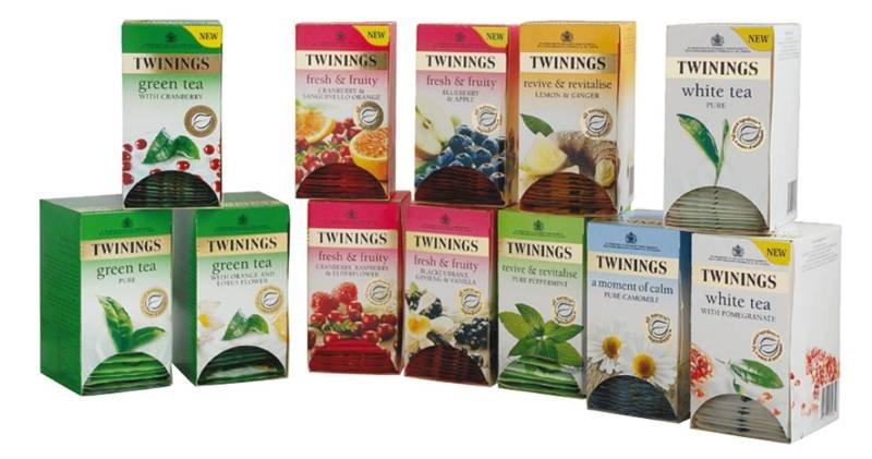 Twinings Herbal Infusion Tea Bag Variety Pack - 12 Pack
