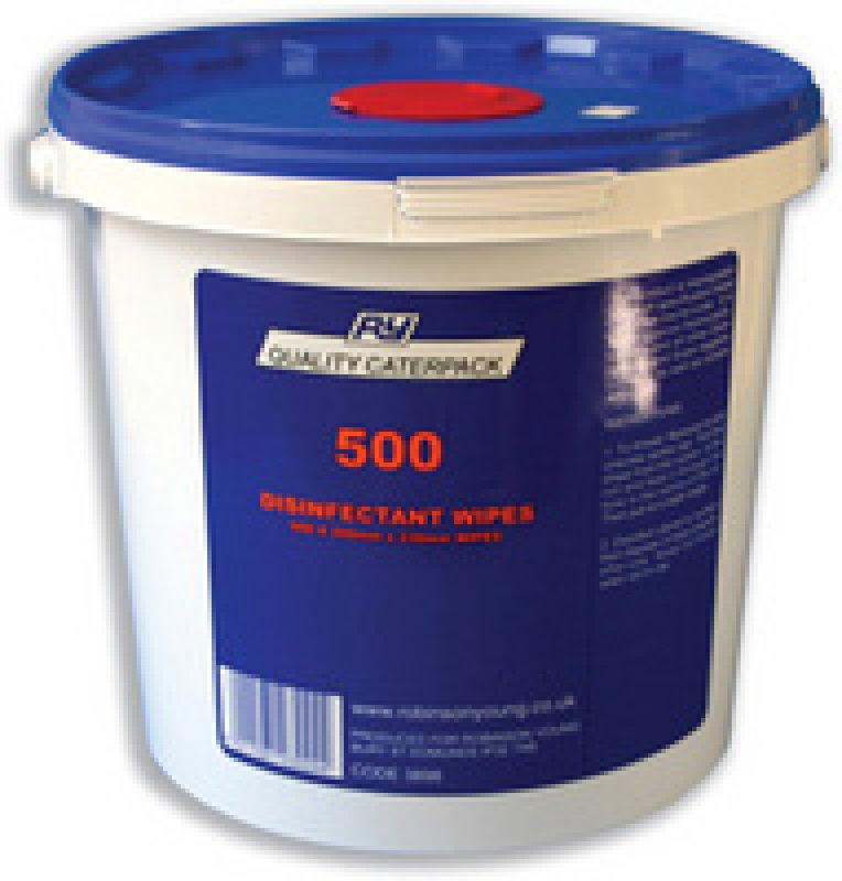 Caterpack Antibacterial Wipes (Pack of 500)