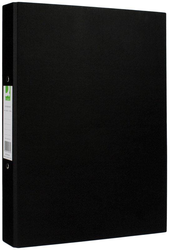 Q Connect Rbndr Pprbkd A4 Black - 10 Pack