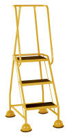 VFM Yellow 3 Tread Step (Pack of 1)