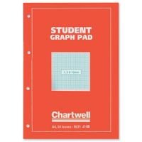 Chartwell Graph Pad A4 Orange
