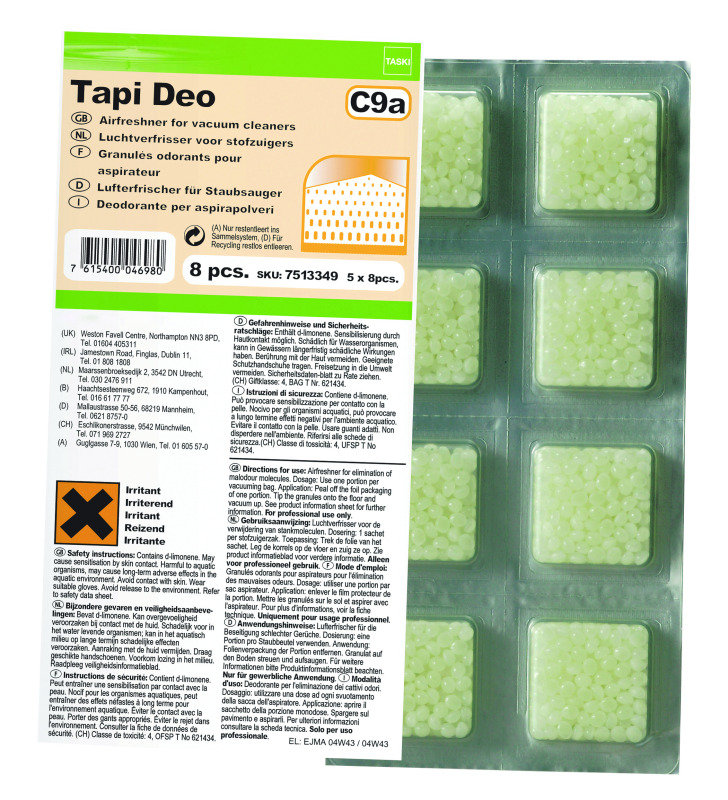 TASKI Tapi Deo Vacuum Crystals (Pack of 40)
