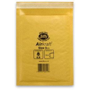JIFFY AIRKRAFT SIZE 0 GLD MULTI PK10