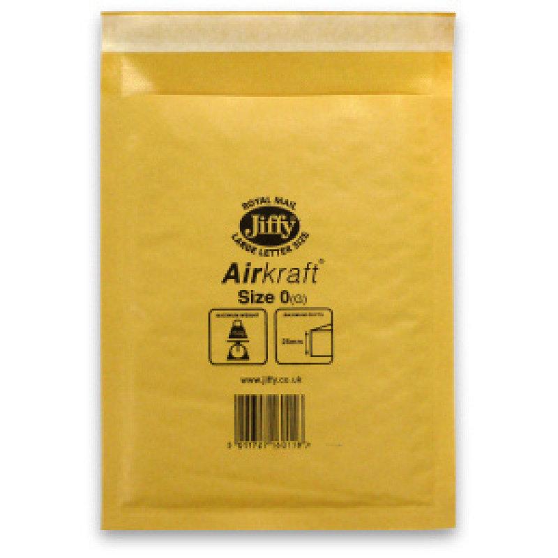 Image of JIFFY AIRKRAFT SIZE 0 GLD MULTI PK10