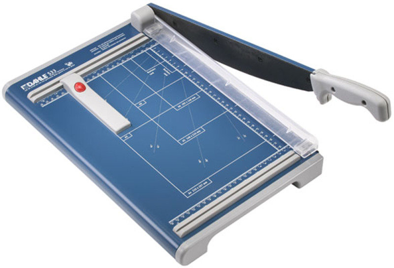 Image of Dahle Guillotine A4 340mm - Blue
