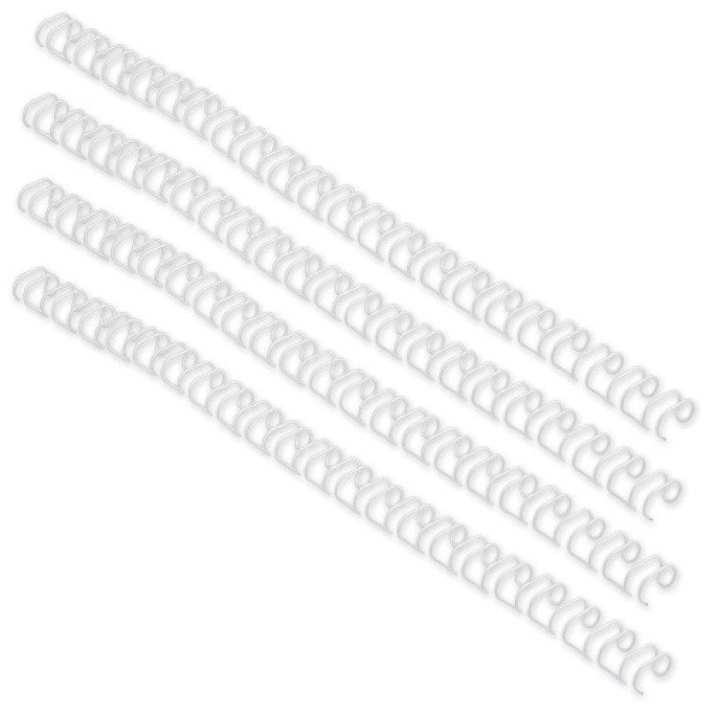 GBC 6MM 34R WIRES WHITE P100