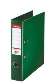 Esselte A4 Pvc Lever Arch 75mm Green - 10 Pack