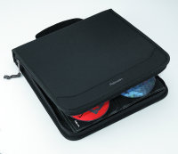 Fellowes 128 Capacity CD Wallet - Black