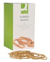 Q CONNECT RUBBER BANDS 100G ASSORTED