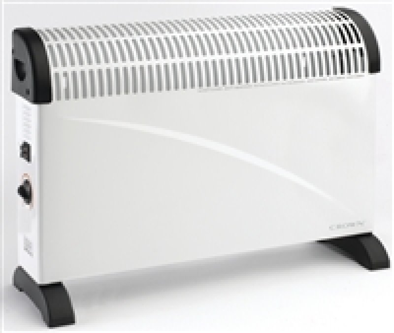Image of Crown 2kw Convector Heater White