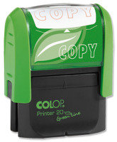 COLOP WORD STAMP GREEN LINE COPY