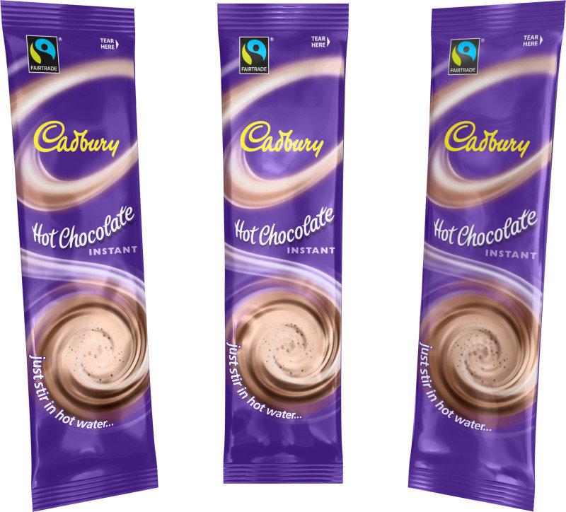 Image of Cadbury Instant Hot Chocolate Sachets 28g (Pk 50)