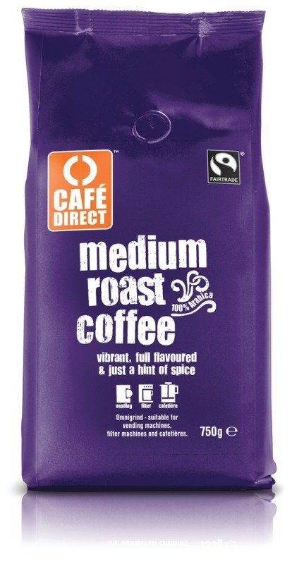 Image of Cafe Direct Fair Trade Roast & Ground Coffee - 750g