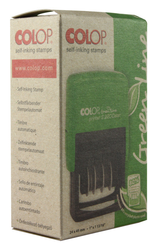 COLOP S226 GREEN LINE NUMBERING STAMP