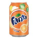 Fanta Orange 330ml Can - 24 Pack