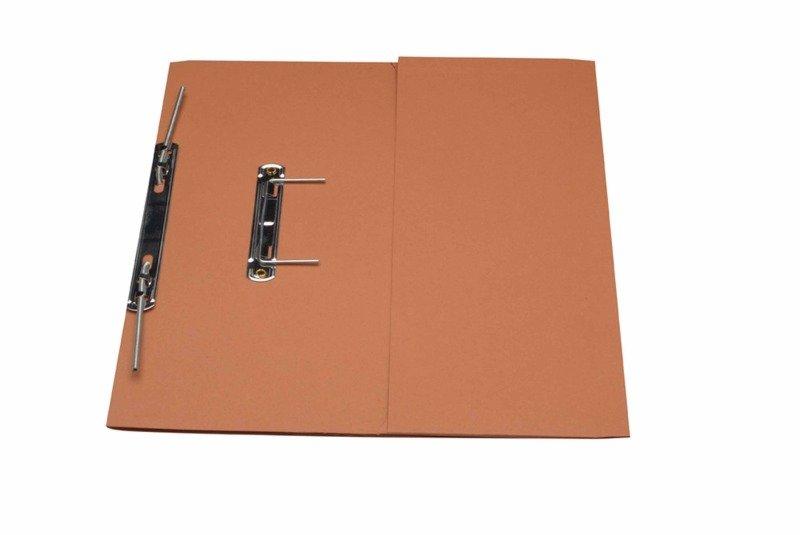 Guildhall Transfer Spring Pocket File Orange - 25 Pack