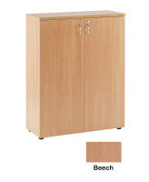 Ff Jemini 1000mm Cupboard 1shelf Beech