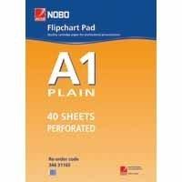 Nobo Flip Pad A1 Plain Fpa1 - 5 Pack