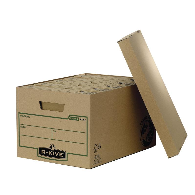 Fellowes R-Kive Earth Large Storage Box - 10 Pack