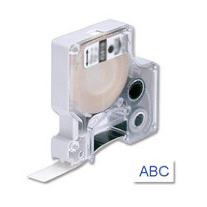 Dymo 1000/5000 Tape 9mm x7m Blue/White