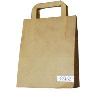 AMBASS PAPER TAKEAWAY BAG PK250