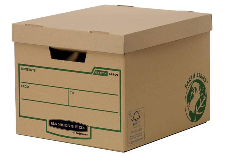 Fellowes Bankers Box- Earth Series, Heavy Duty