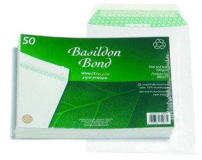 BASILDON BOND C5 PKT 100G WHITE PK50