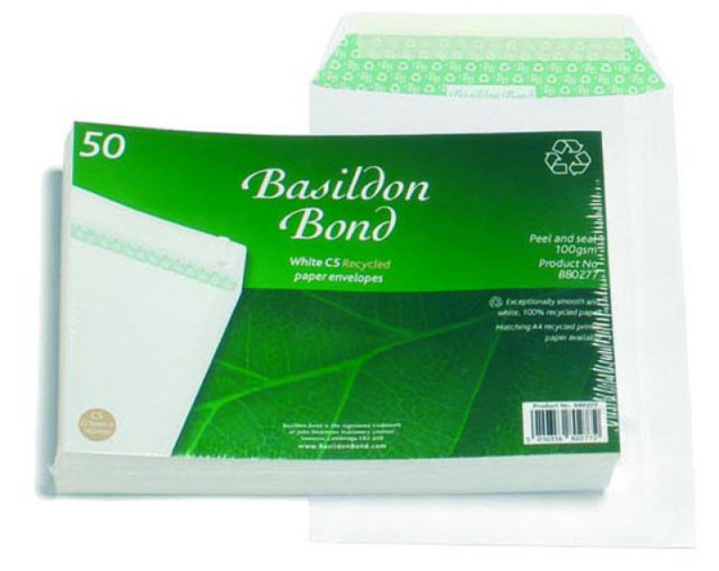 Image of BASILDON BOND C5 PKT 100G WHITE PK50